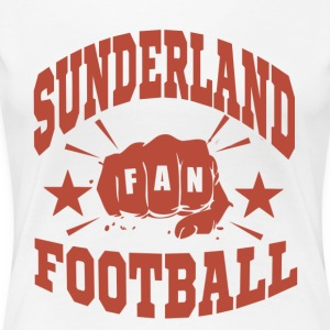 Sunderland Football Fan - Premium-T-shirt dam