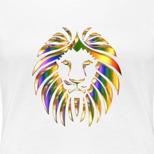 Stylish design in lion motif - Women's Premium T-Shirt