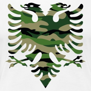 Military flag Albania - Women's Premium T-Shirt