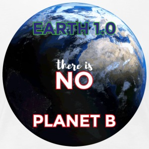 Earth 1.0 - der er ingen Planet B - Dame premium T-shirt