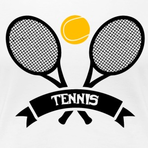 Tennis! - Frauen Premium T-Shirt