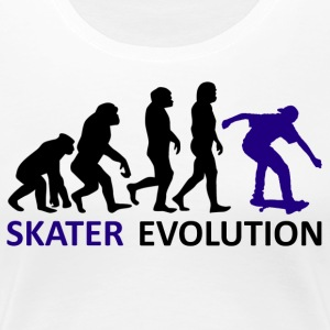 ++ ++ Skater Evolution - Premium-T-shirt dam