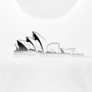Around The World: Opera House - Sydney - Premium T-skjorte for kvinner