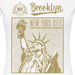 New York City · Brooklyn - T-shirt Premium Femme