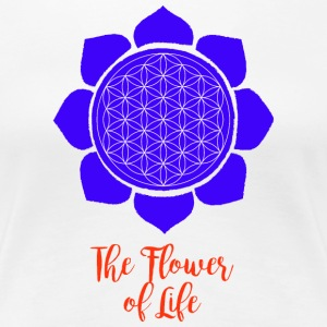 Flower of Life - Vrouwen Premium T-shirt