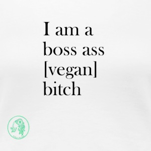 Bag - Boss Ass Bitch Vegan - Dame premium T-shirt