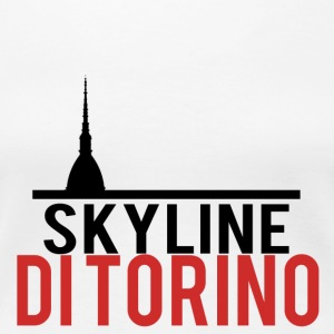 Skyline of Turin - Women's Premium T-Shirt