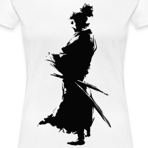 KING SAMURAI COLLECTION - Premium T-skjorte for kvinner