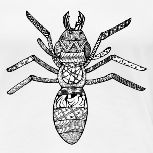 Zentangle-Ant - Women's Premium T-Shirt