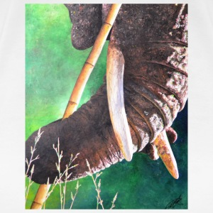 Mousepad Elephants Design - Women's Premium T-Shirt