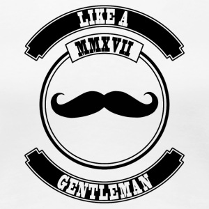 Like a Gentleman - Frauen Premium T-Shirt