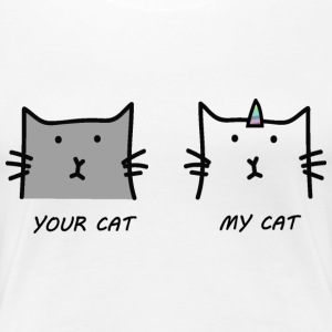 Your cat My cat - Women's Premium T-Shirt