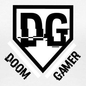 t-shirt Doom gamer - original - T-shirt Premium Femme