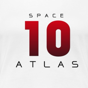 Space Atlas Baseball Long Sleeve 10 - Women's Premium T-Shirt