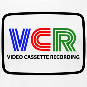 VIDEO TAPE INSPELNING - Premium-T-shirt dam