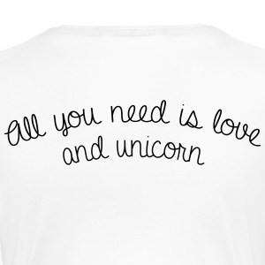 All you need is love and unicorn - Women's Premium T-Shirt