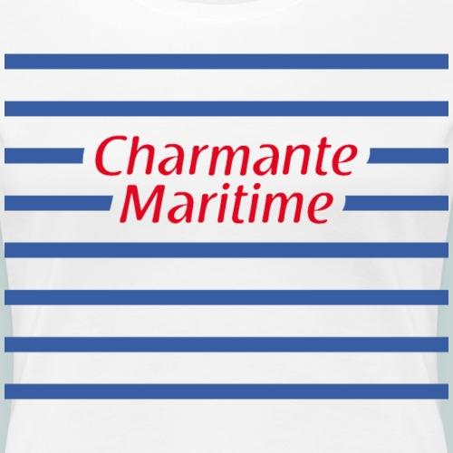Charmante Maritime1 - T-shirt Premium Femme