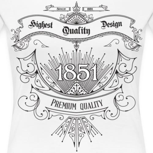 Highest quality design vintage - Frauen Premium T-Shirt