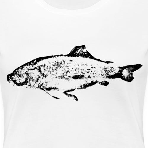 Angler - Lederkarpfen - Frauen Premium T-Shirt