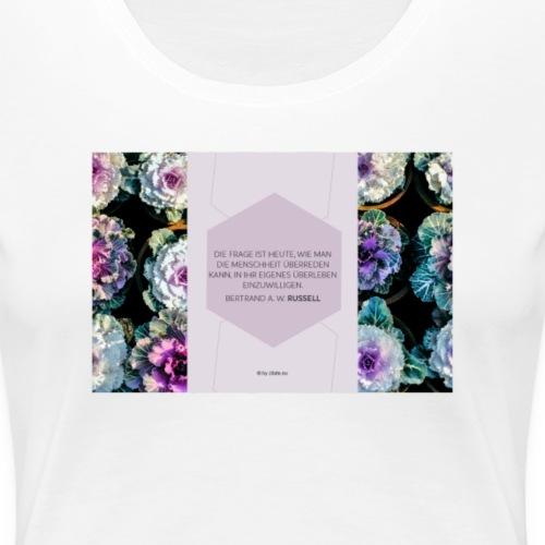 Bertrand A.W. Russell - Frauen Premium T-Shirt