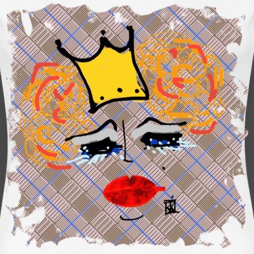 FACCE DI MòKIKA PdG Queen - Maglietta Premium da donna