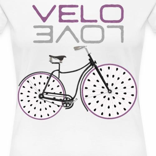 Pitaya Bike Shirt Velo Love Shirt Radfahrer Shirt - Frauen Premium T-Shirt