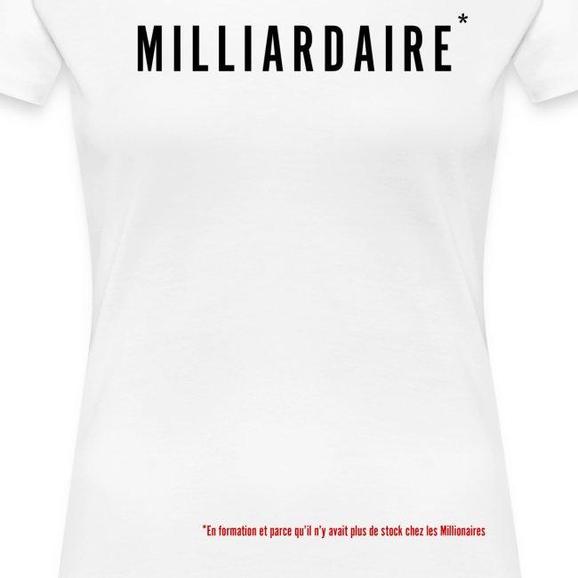 Milliardaire version noir