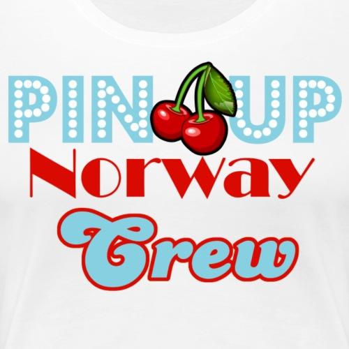 Crew Logo - Premium T-skjorte for kvinner