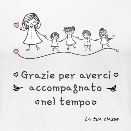 Regalo Maestra Scuola Materna Elementare Asilo - Maglietta Premium da donna