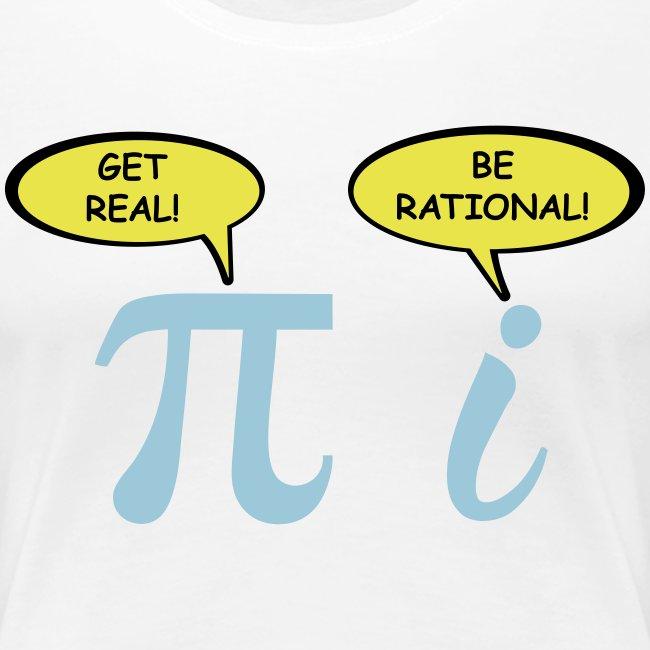 Sé realista Sé racional