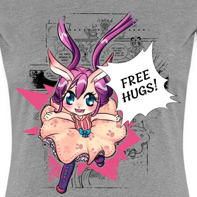 Free hugs (black lines)
