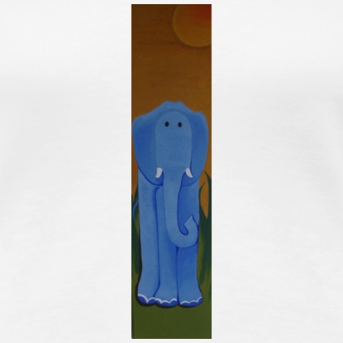 Blauer Elefant - Frauen Premium T-Shirt