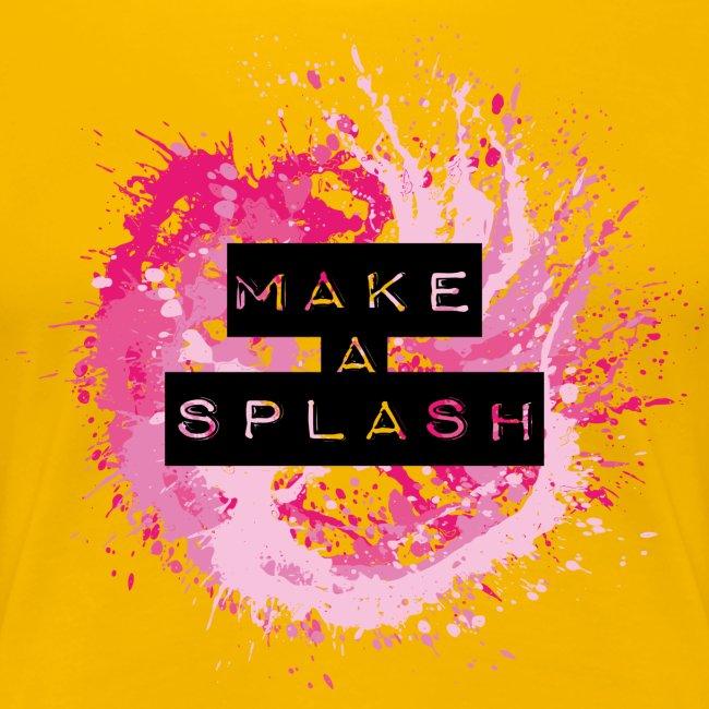 Make a Splash - Aquarell Design