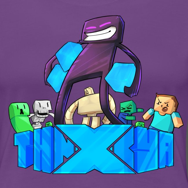 ThnxCya tshirt like an enderman by Jonas Nacef png