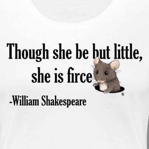 Mouse firce - Frauen Premium T-Shirt
