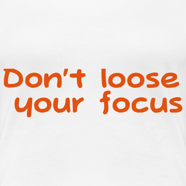 dont loose