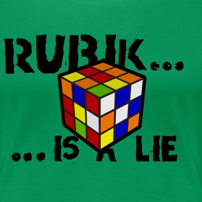 is a lie