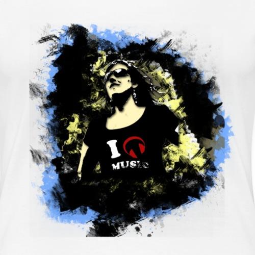woman - Vrouwen Premium T-shirt
