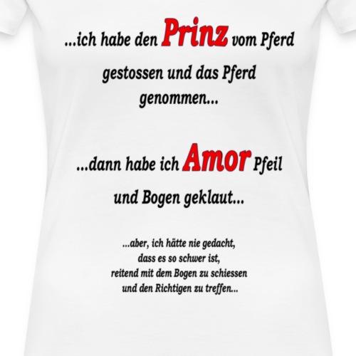 prinz_und_amor - Frauen Premium T-Shirt