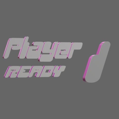 player 1 girl - Frauen Premium T-Shirt