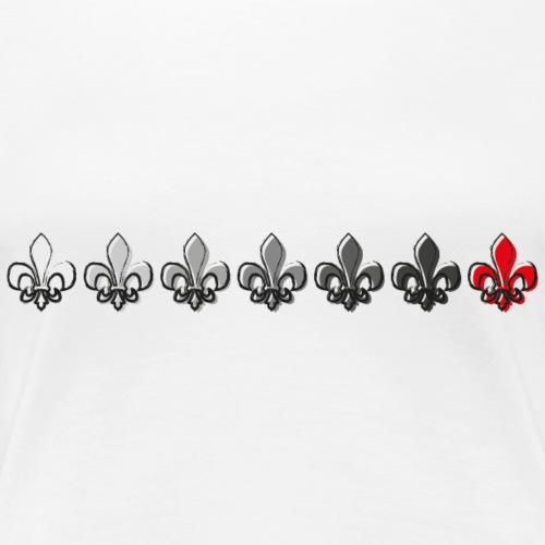 Loading Hearts - Pfadfinder Lilien - Frauen Premium T-Shirt