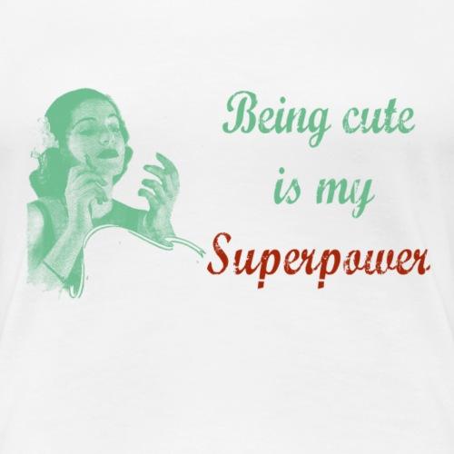 cute be color - T-shirt Premium Femme