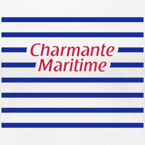 Charmante Maritime 2 - T-shirt Premium Femme