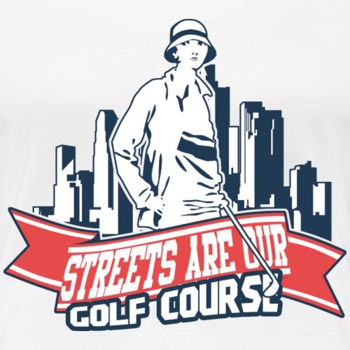 Vintage Golfer woman