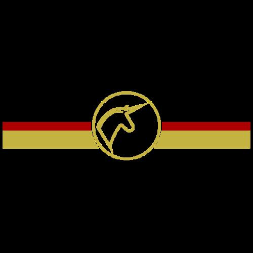 horses en vogue -schwarz,rot,gold- - Frauen Premium T-Shirt