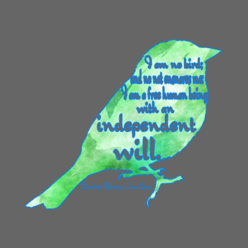 Caged Bird - Women's Premium T-Shirt
