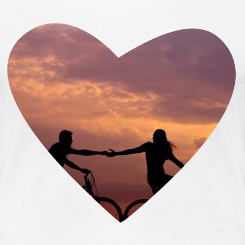 Follow Me - Frauen Premium T-Shirt