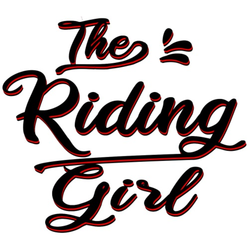 The Riding Girl Reiten Pferd - Frauen Premium T-Shirt