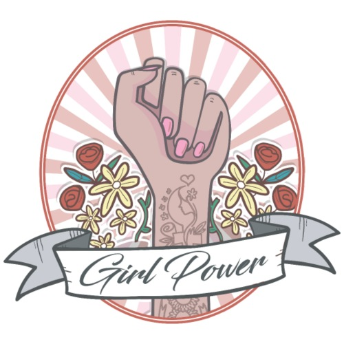 GIRL POWER - HOPE - T-shirt Premium Femme