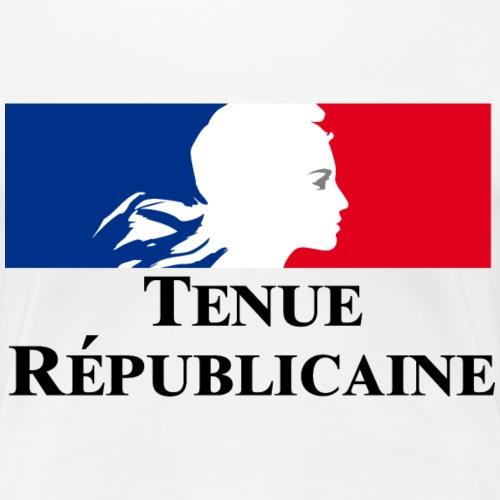 Tenue Républicaine - T-shirt Premium Femme